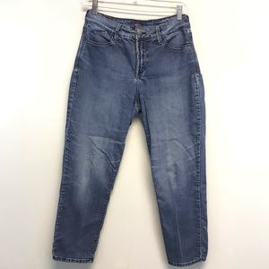 NYDJ | Ankle Straight Leg Medium Wash Jeans